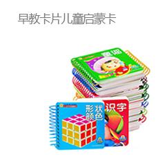 早教卡片儿童启蒙卡书籍儿童书 全套16本
